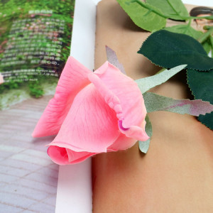 RESUP Real Touch Artificial Rose For Home and Wedding Decoration 0499 17.8'' Tall Wholesale China Factory