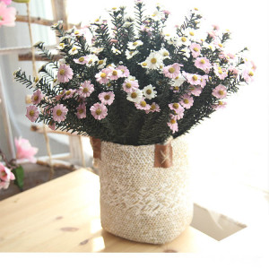 RESUP Artificial Daisy 0517 For Home and Wedding Decoration 20.4'' Tall Silk Daisys Wholesale China Factory