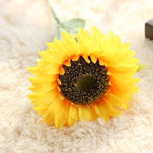 RESUP Artificial Sunflowers 0512 For Home and Wedding Decoration 26.8'' Tall Faux Sunflowers Wholesale China Factory