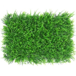 RESUP Artificial Green Panel 40cm*60cm 0534 Wall Decor Plastic Plant China Factory