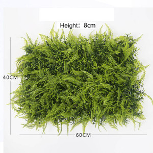RESUP Artificial Green Wall Panel 40cm*60cm for Wall Decoration 0561 Green Panel China Factory