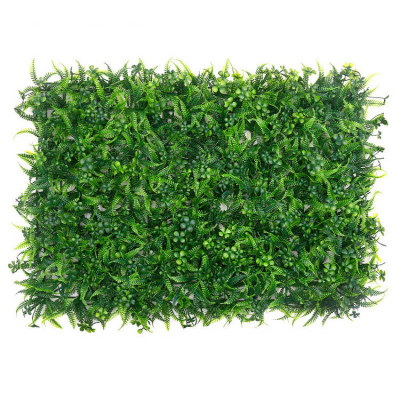 RESUP Artificial Green Wall Panel 40cm*60cm for Wall Decoration 0562 Green Panel China Factory