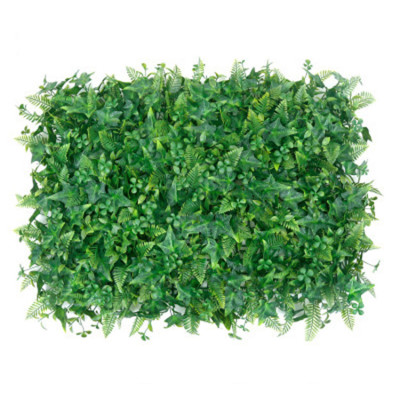RESUP Artificial Green Wall Panel 40cm*60cm 0566 Electronic Shop Decoration China Factory