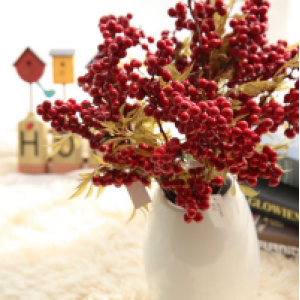 Artificial Christmas Berry Home Decor