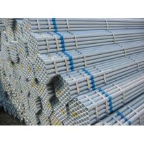 Galvanized steel pipe and tubes