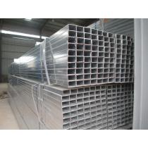 Galvanized square tubes