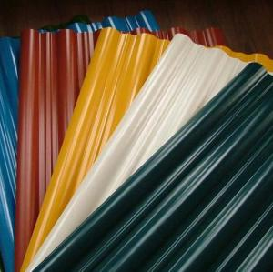 Colour coated galvanized corrugated steel sheet/ steel plate