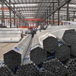 Galvanized steel pipe/Galvanized steel tubes China Manufacturer