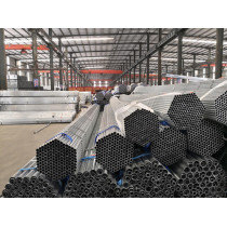 Hot sell and the best price of BS1387 / ASTM / BS4568  hot dip galvanized steel pipe