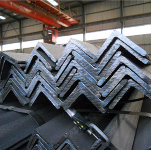 Manufacturer directly supply galvanized mild steel angle bar for sale