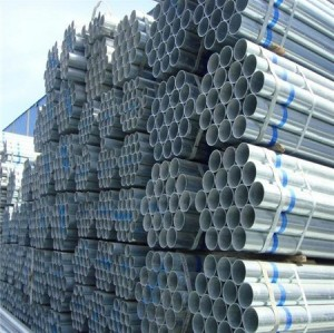 China's Manufacturer ASTM A53 ERW Welded Round Steel Pipe