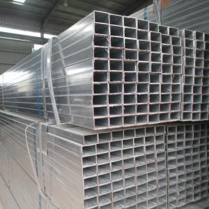 Galvanized square tubes/Galvanized rectangular pipe