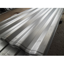 Corrugated steel plate/sheet with zinc coating galvanized steel plate/sheet