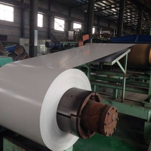 Grade SS400 Pre-painted Galvanized Steel Coil RAL export to Sri Lanka