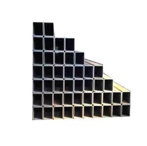 ERW square steel pipe for construct building, structural large rectangular steel hollow section