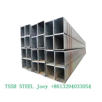 Steel Pipe building material /hollow tube /metal / black square pipe in Tangshan