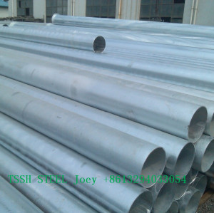 Top selling different diameter weldable steel pipe for greenhouse
