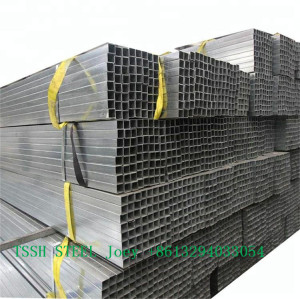 elliptical zinc plated tubes seamless carbon steel pipe