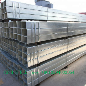 300mm Diameter Galvanized ASTM OEM High Quality Square Steel Tubes/Pipes