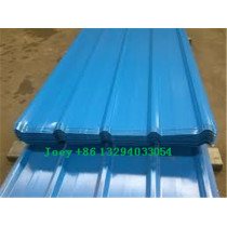Prepainted corrugated sheet / color coated corrugated steel plate/ roof building material with factory price