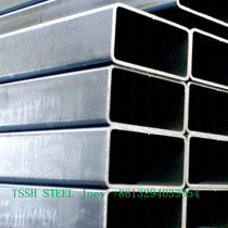 ASTM A500 grade b black square structure hollow section steel tube