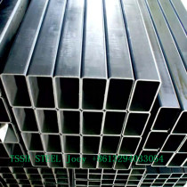 China Supplier High Quality galvanized Black Ms Square Steel Tube or Pipe