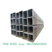 1mm thin wall 38x38 mm gi square steel tubes