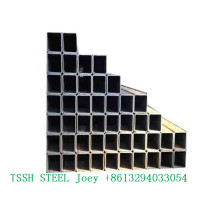 ERW square steel structure pipes and tubes specification galvanized square steel tube