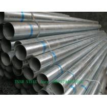 Galvanized steel pipe / round / square / rectangular pipe / steel tube / 20mm-260mm / 0.6mm-12mm / factory price / Q195-Q345