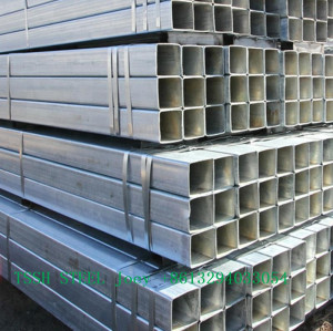 Wall thickness 2MM S235JR ASTM A500 Carbon Mild Steel Square hollow section rectangular steel tube
