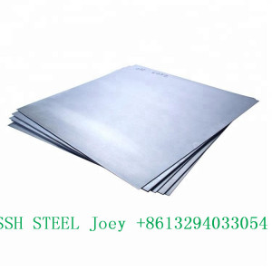 Prime quality cold rolled astm a240 tp 316l stainless steel plate