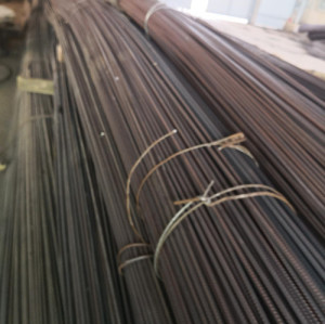 Gr.40, Gr.60 grade hot rolled ribbed bar for construction