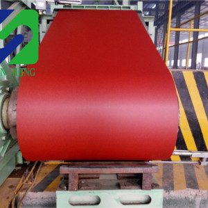 ppgi prepainted corrugated steel, AZ coating prepainted ppgi color coated hot dipped galvanized steel coil, painted