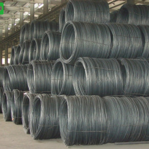 ASTM standard/DIN standard Wire Rod non-alloy/low-alloy all available export to Myanmar