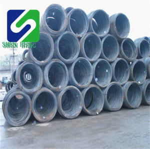 China 5.5mm 6.5mm 8mm Q195 Sae 1006 Sae 1008 good quality for nail making hot rolled low carbon steel wire rod