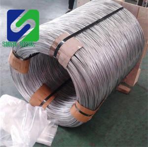GB Standard Hot Rolled Steel Wire Rod 6.5mm 8mm 10mm