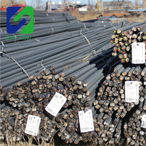 Hot rolled deformed steel bar/ building iron rod for construction project
