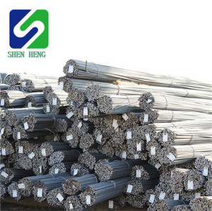 Standard 12mm concrete reinforcing steel deformed bar