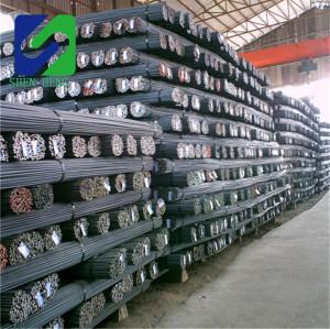 High Quality Hot Rolled Mild Deformed Steel Rebar Price Deformed rebar 28mm steel bar