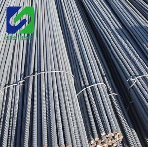 Hebei Tangshan steel rebar, deformed steel bar, iron rods for construction