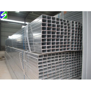 Galvanized square rectangular steel tube/pipe for greenhouse