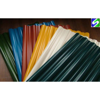 CGCC grade prepainted corrugated steel sheet/plate 0.35mm thickness  0.45mm thickness