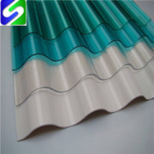 Hot sale colored corrugated steel sheet/plate export to Africa