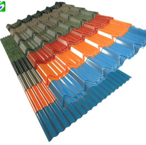 SGCC grade competitive price prepainted corrugated steel sheet/plate export to Pakistan