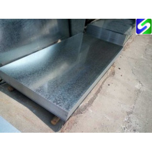 flat products galvanized steel sheet and plate with regular spangle zinc coating 20-150g