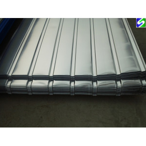 SGCC grade 0.4mm prime hot dipped galvanized corrugated steel sheet factory direct supply