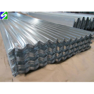 0.35mm prime hot dipped galvanized corrugated steel sheet full hard with small spangle