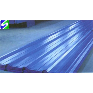 hot sale prepainted corrugated steel sheet/plate export to Egypt