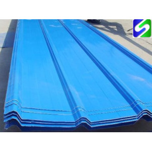 CGCC grade hot sale prepainted corrugated steel sheet/plate export to India