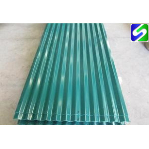 Factory supply competitive price prepainted corrugated steel sheet/plate export to Bangladesh